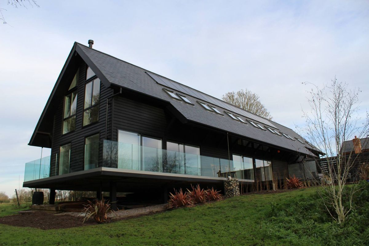 Contemporary Style Eco Home