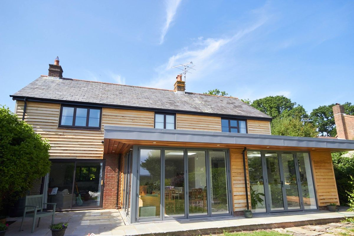 Extension & alterations to house in New Forest National Park
